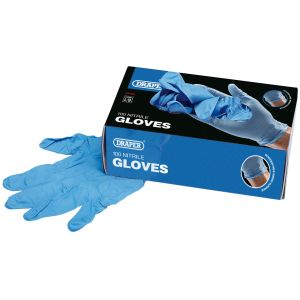 Draper - Large Nitrile Gloves (Box of 100)