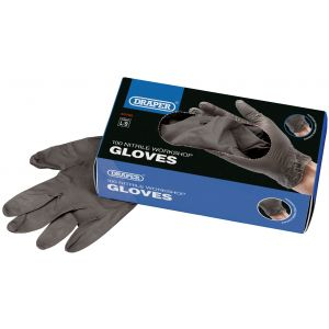 Draper - Workshop Nitrile Gloves (Box of 100)