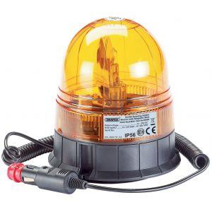 Draper - 12/24V Magnetic Base Rotating Beacon