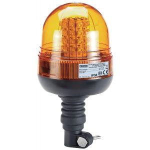 Draper - 12/24V LED Flexible Spigot Beacon - 400 Lumens