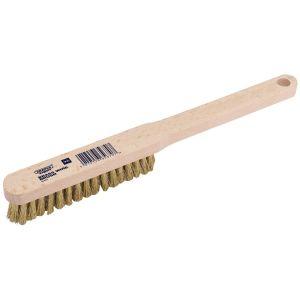 Draper - Brass Fill Wire Hand Brush (225mm)