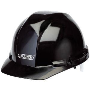 Draper - Black Safety Helmet to EN397