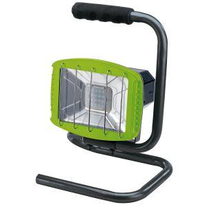 Draper - 230V Work Light with Wireless Speaker - 1,200 Lumens (Green, 85 dB Speaker)