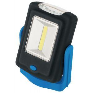 Draper - 3W COB LED Magnetic Work Light - 150 Lumens (3 x AAA Batteries Supplied)