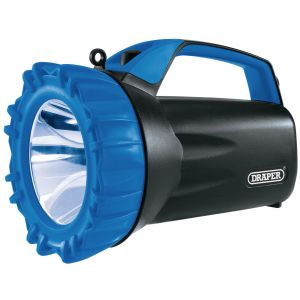 Draper - 10W Cree LED Rechargeable Spotlight with Power Bank - 850 Lumens