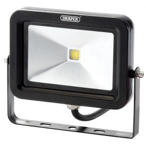 Draper - 10W COB LED Slimline Wall Mounted Floodlight - 700 Lumens