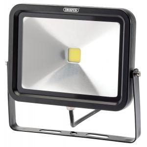 Draper - 30W COB LED Slimline Wall Mounted Floodlight - 1,950 Lumens