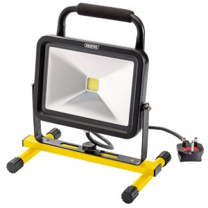 Draper - 50W 230V COB LED Work Light - 3,250 Lumens
