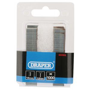 Draper - 2000 'I' Nails (14mm)