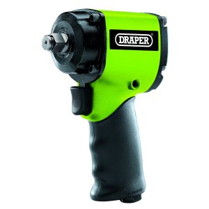 """Draper - Stubby Composite Body Air Impact Wrench (1/2"""" Sq. Dr.)"""
