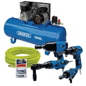 Draper - Air Tool 150L Kit