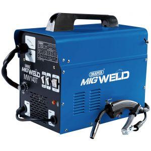 Draper - 230V Gas/Gasless Turbo MIG Welder (130A)