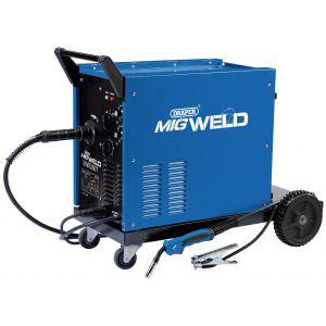 Draper - 230/400V Gas/Gasless Turbo MIG Welder (250A)