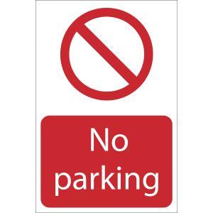 Draper - No Parking' Prohibition Sign