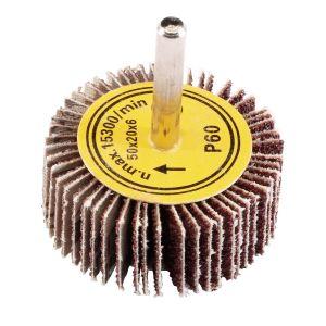 Draper - Abrasive Flap Wheel (50mm x 20mm 60 Grit)