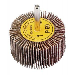 Draper - Abrasive Flap Wheel (60mm x 30mm 60 Grit)