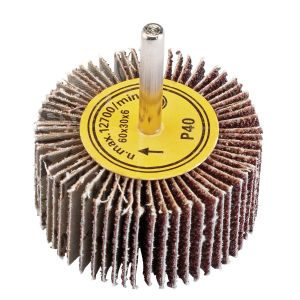 Draper - Abrasive Flap Wheel (60mm x 30mm 40 Grit)
