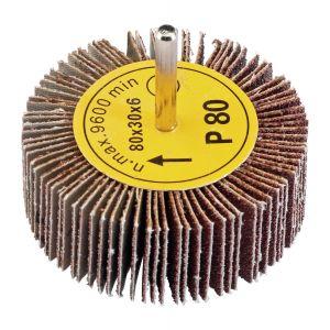 Draper - Abrasive Flap Wheel (80mm x 30mm 80 Grit)