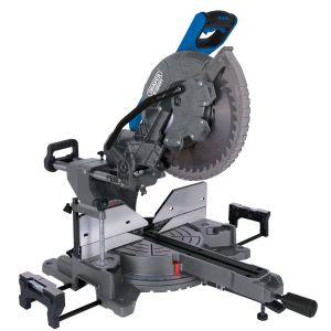 Draper - 305mm Double Bevel Sliding Compound Mitre Saw (2000W)