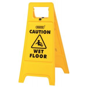 Draper - Wet Floor Warning Sign