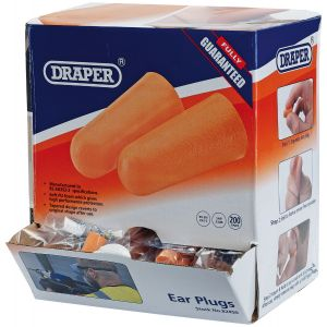Draper - Countertop Dispenser of Ear Plugs (200 Pairs)