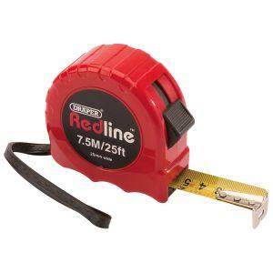 Draper - Metric/Imperial Measuring Tape (7.5M/25ft)