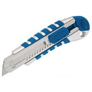 Draper - 18mm Soft Grip Retractable Knife with Seven Segment Blade