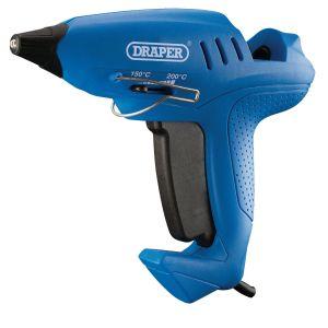 Draper - Draper Storm Force® Variable Heat Glue Gun with Six Glue Sticks (400W)