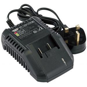 Draper - 18V Universal Battery Charger for Li-Ion and Ni-Cd Battery Packs