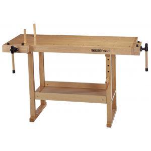 Draper - Heavy Duty Carpenters Workbench (1495 x 655 x 840mm)