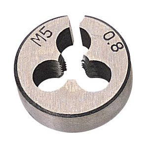 "Draper - 13/16"" Outside Diameter 5mm Coarse Circular Die"