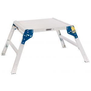 Draper - 2 Step Square Aluminium Working Platform