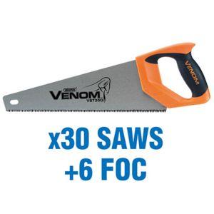 Draper - First Fi x Draper Venom® Triple Ground Tool Box Saws (added value pack 30 saws + 6 foc)