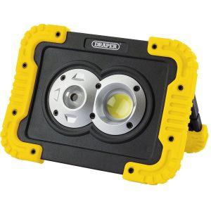 Draper - 10W COB LED Rechargeable Work Light - 750 Lumens
