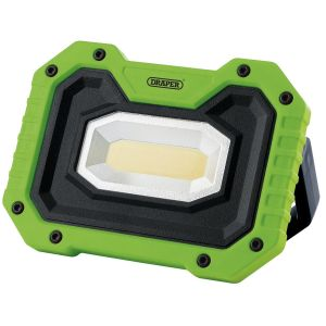 Draper - 5W COB LED Rechargeable Work Light with Wireless Speaker (Green)
