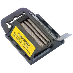 Draper - Dispenser of 100 Two Notch Trimming Knife/Window Scraper Blades