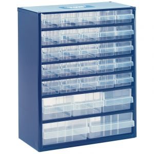 Draper - 30 Drawer Storage Organiser