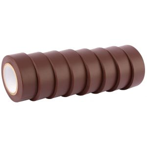 Draper - 10M x 19mm Brown Insulation Tape to BSEN60454/Type2 (Pack of 8)