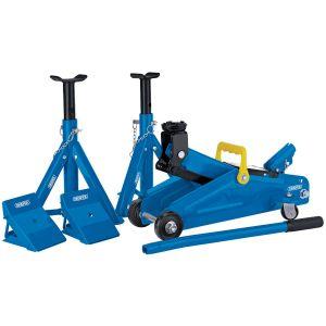 Draper - 2 Tonne Trolley Jack Combination Kit