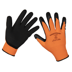 Sealey Foam Latex Gloves (X-Large) - Pair