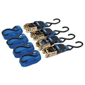 Draper - Ratcheting Tie Down Strap Sets (4 Piece)