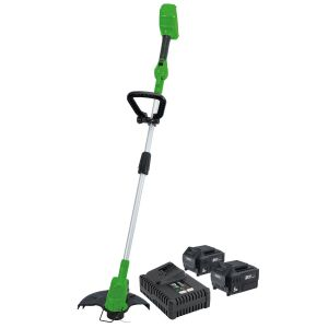 Draper - D20 40V Grass Trimmer with Battery and Fast Charger