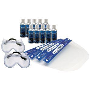 Draper - 75% Alcohol Antibacterial Hand Sanitiser (100ml) – PPE Bundle