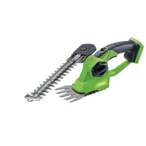 Draper - D20 20V 2-in-1 Grass and Hedge Trimmer – Bare