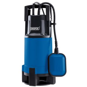 Draper - 110V Submersible Dirty Water Pump with Float Switch (750W)