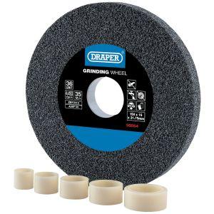 Draper - Aluminium Oxide Bench Grinding Wheel 36G (150mm x 16mm)