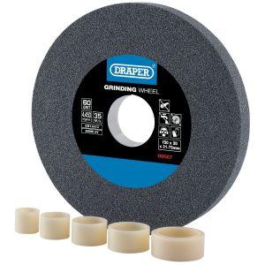 Draper - Aluminium Oxide Bench Grinding Wheel 60G (150mm x 20mm)