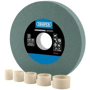Draper - Silicon Carbide Bench Grinding Wheel 120G (150mm x 20mm)