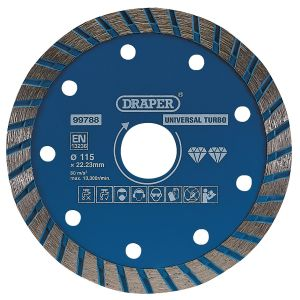 Draper - Turbo Diamond Blade (115mm)