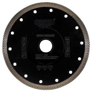 Draper - Turbo-X Porcelain Diamond Blade (180mm)